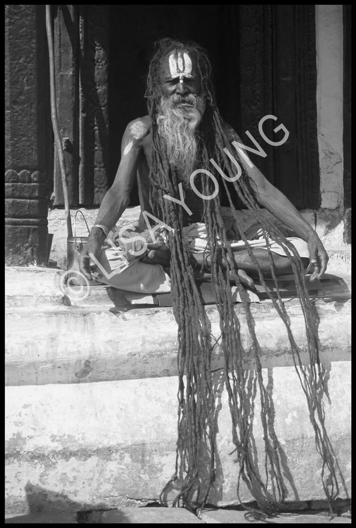 Sadhu holy man, Nepal