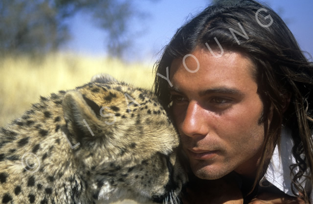 Olivier Houalet, the Cheetah Man