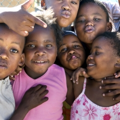 Township Children, Cape Town, SA